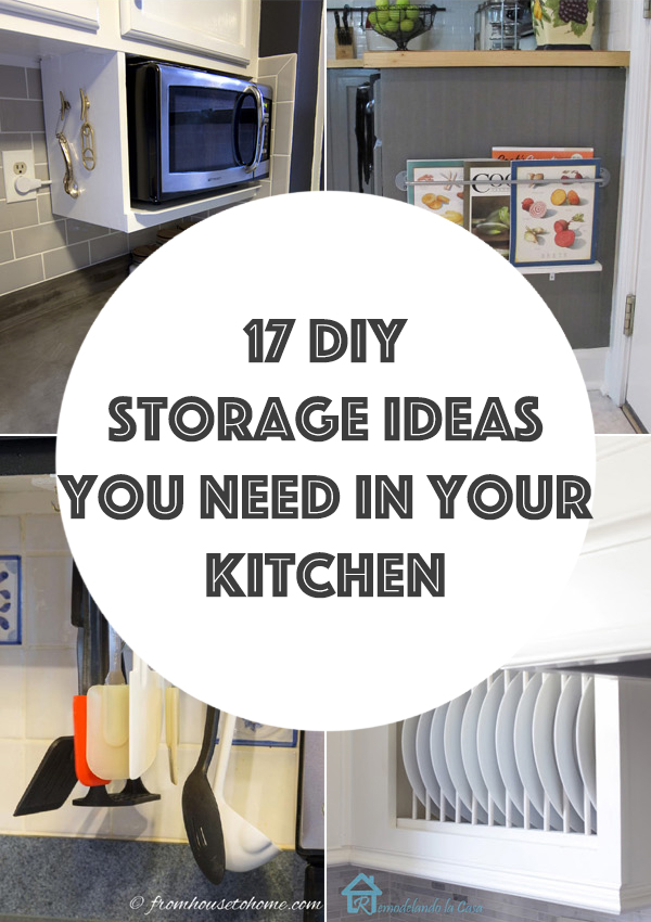 17 Brilliant DIY Storage Ideas You Need in Your Kitchen
