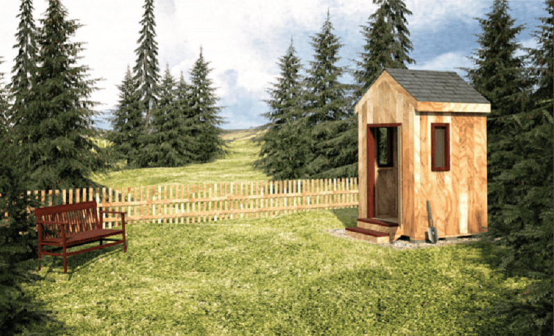6×6 Garden Shed Plans