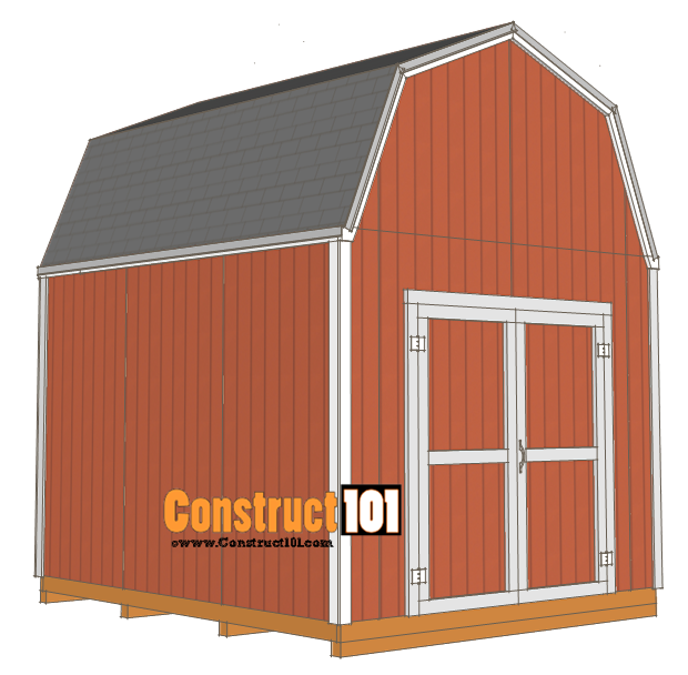 Classic Gambrel Style Shed