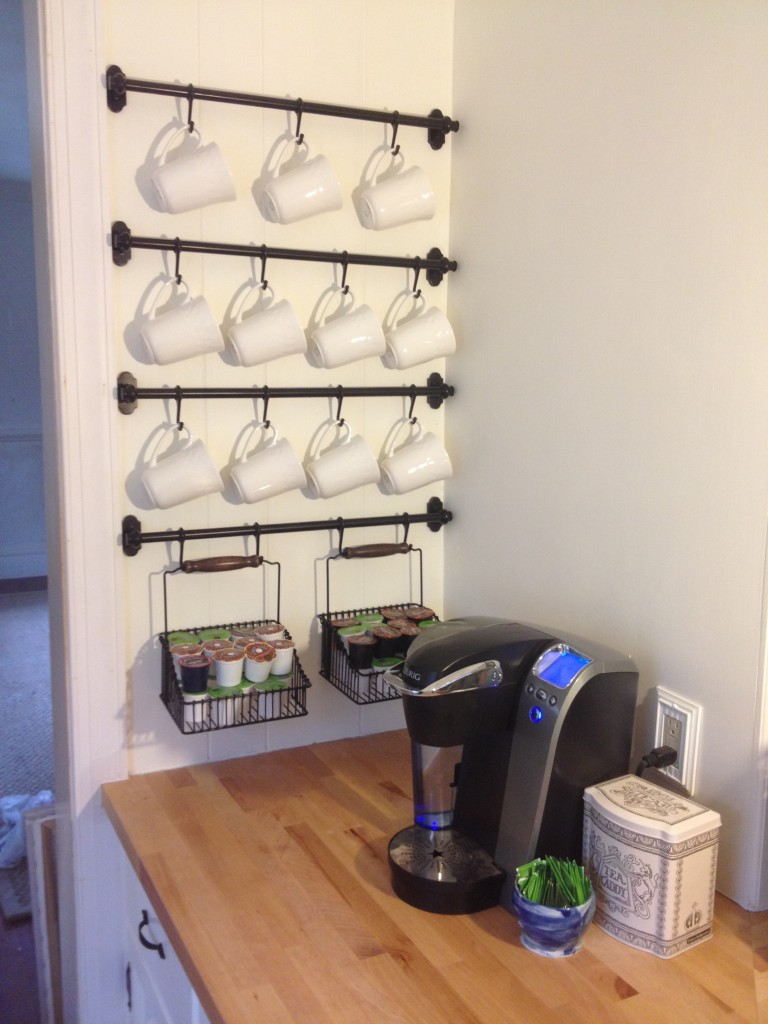 Coffee Mug Wall Rack