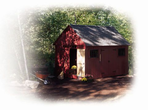 The Colonial Style Storage Shed