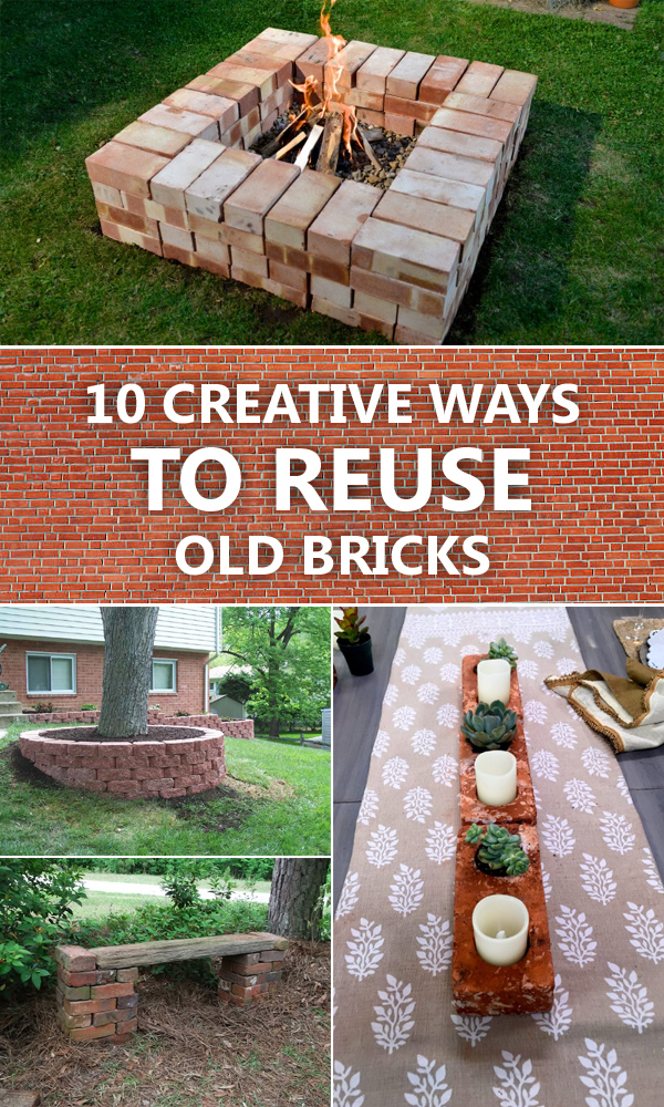 10 Creative Ways To Reuse Old Bricks