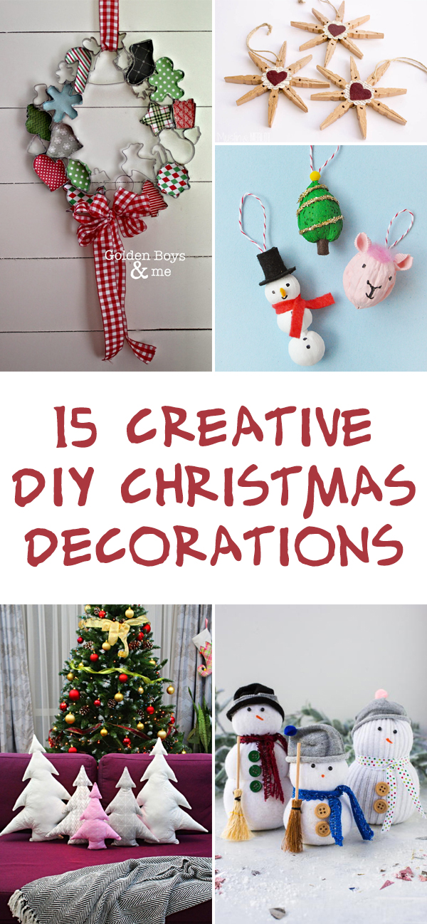 15 Creative DIY Christmas Decorations