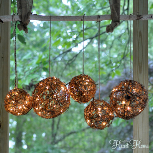 Grapevine Ball Chandelier