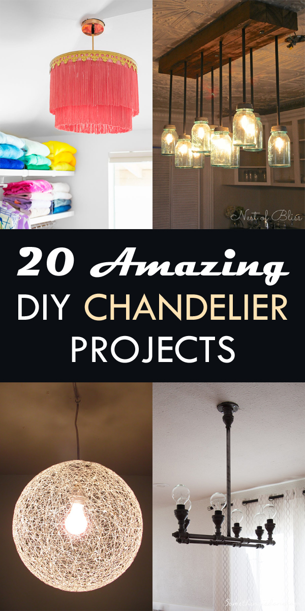 20 Amazing DIY Chandelier Projects