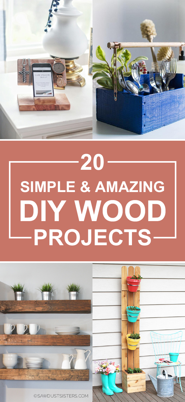 20 Simple And Amazing DIY Wood Projects