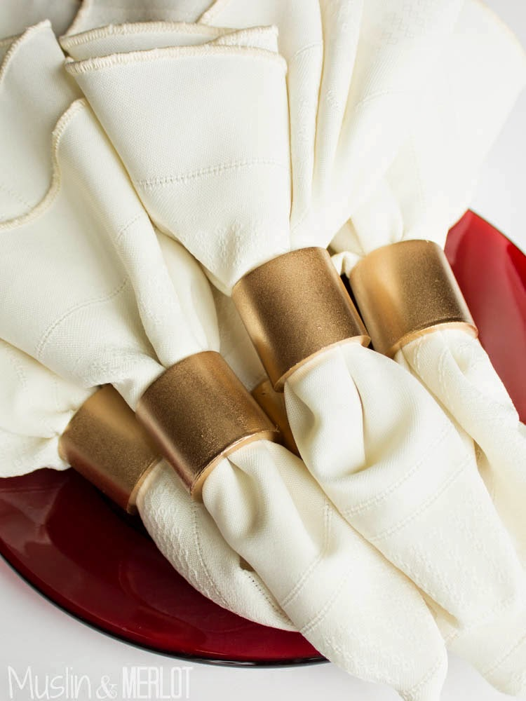 PVC Pipe Napkin Rings