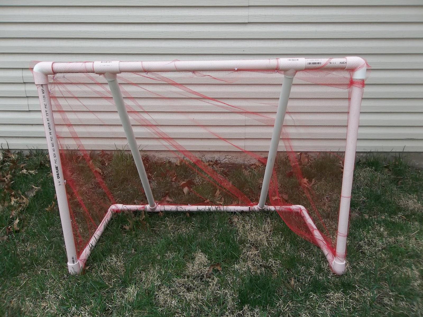 PVC Pipe Soccer Goal