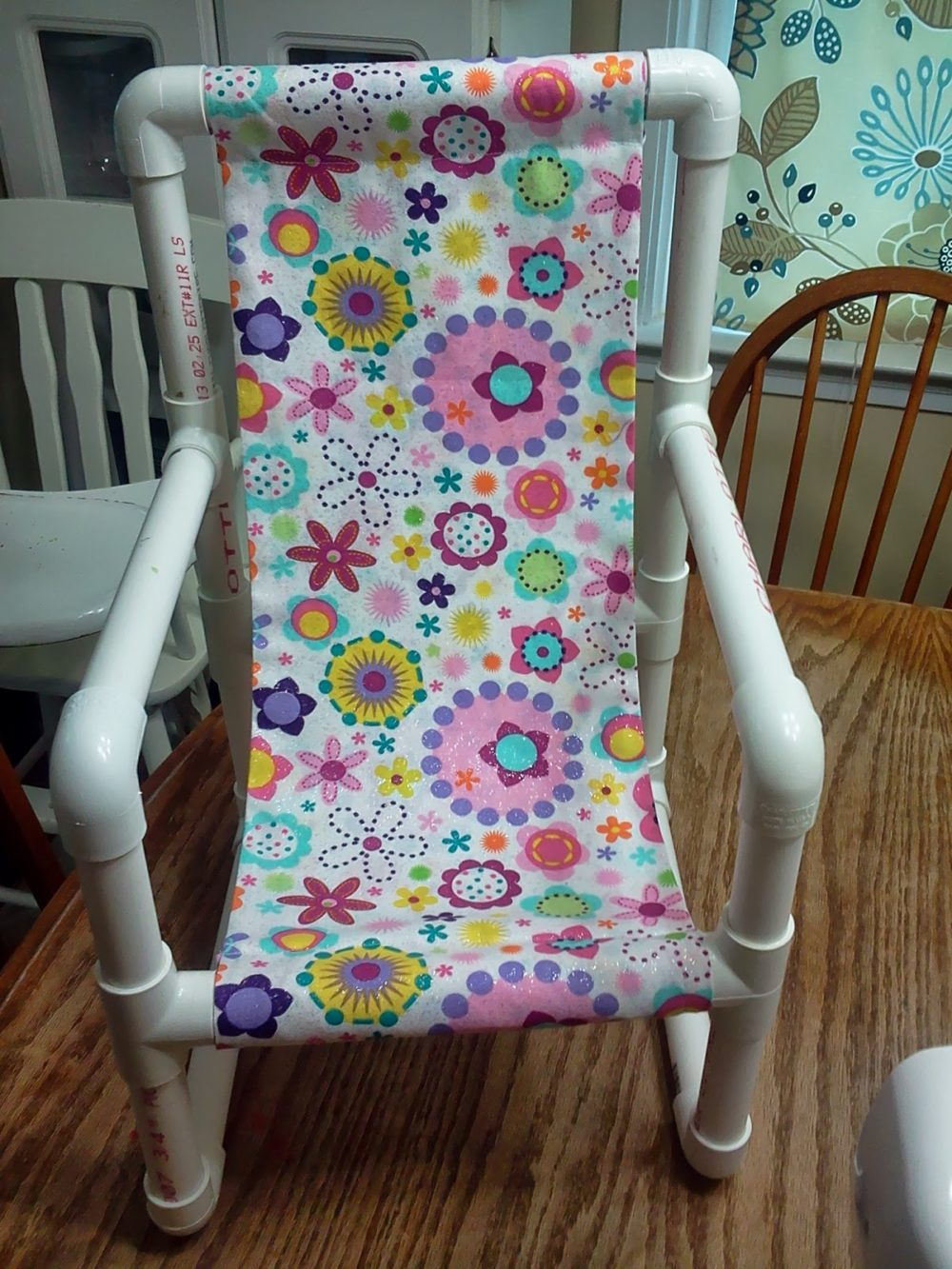 PVC Pipe Toddler Chair