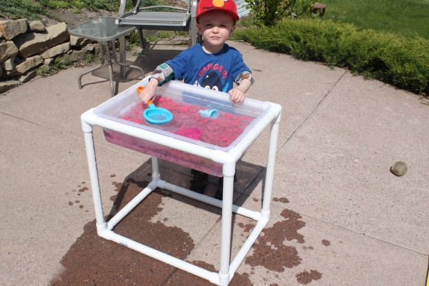 water table out of PVC pipe