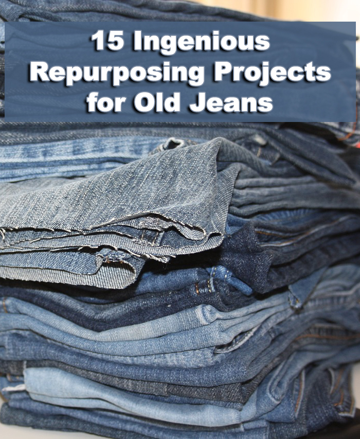15 Ingenious Repurposing Projects for Old Jeans
