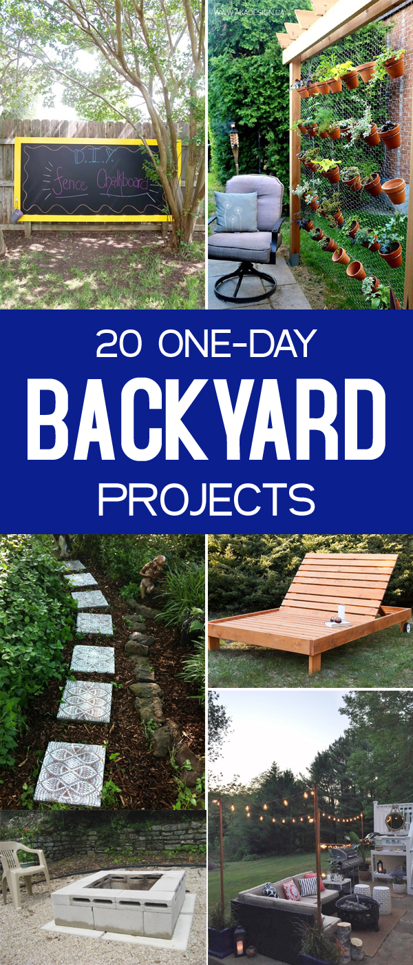 20 One-Day Backyard Projects Anyone Can Do