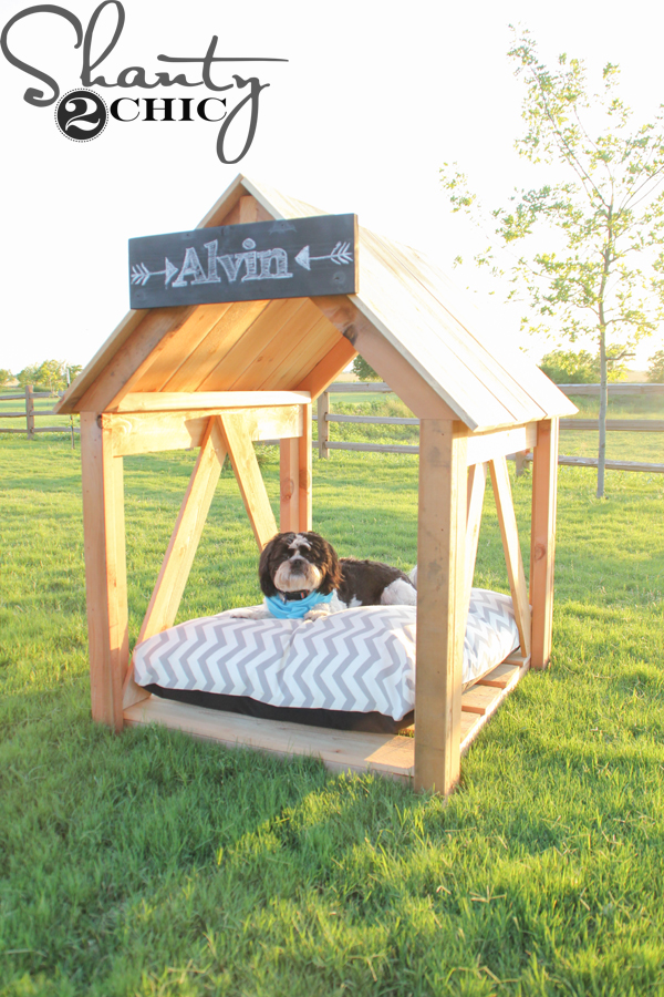 Open-Air Style Doghouse