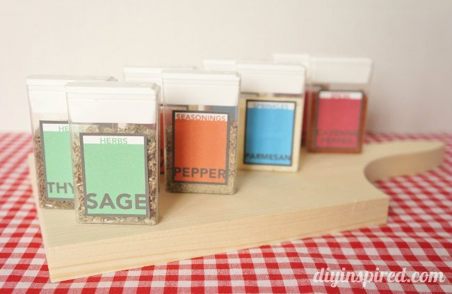 Turn Tic Tac Containers Into Spice Storage