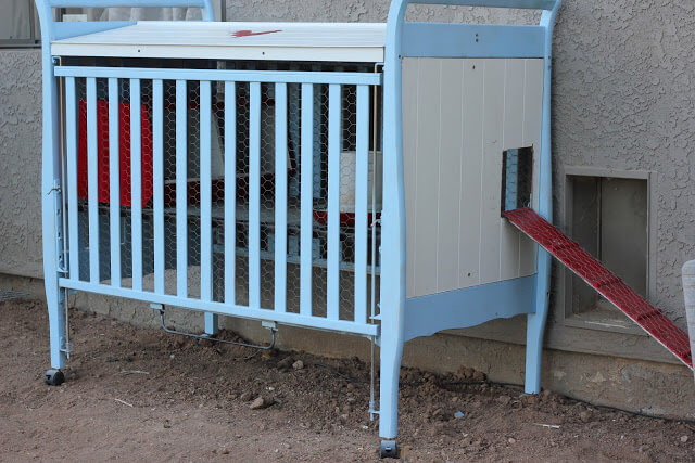 Baby Crib Chicken Coop