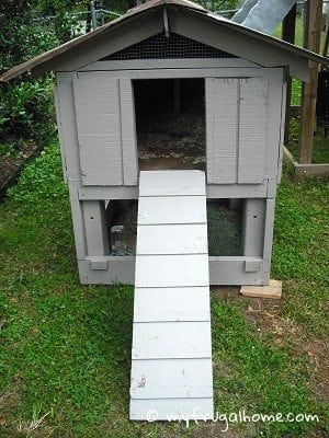 Dog House Transformed into a Chicken Coop