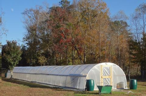 Heavy-Duty Metal Frame Greenhouse