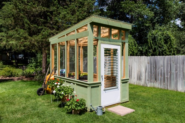 20 Cheap & Easy DIY Greenhouse Ideas