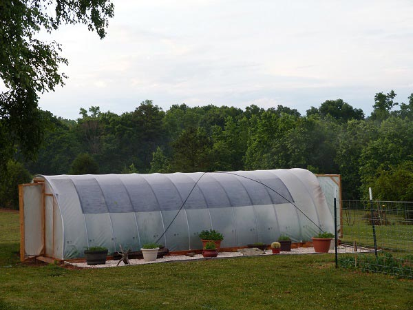 Windproof Hoop Greenhouse