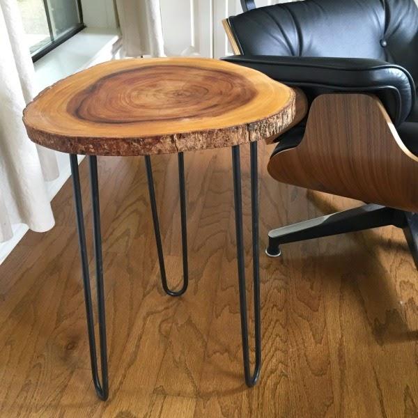 Mid-Century Modern Hairpin Table