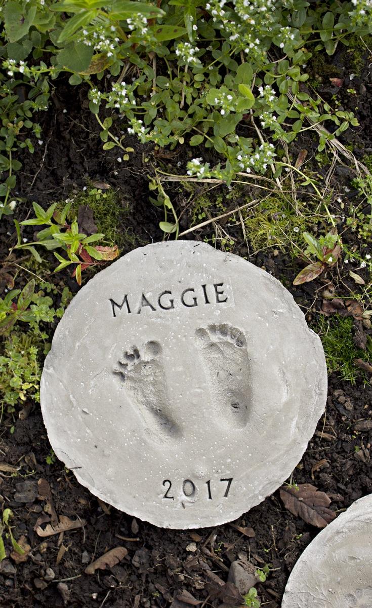 Footprint Garden Stones