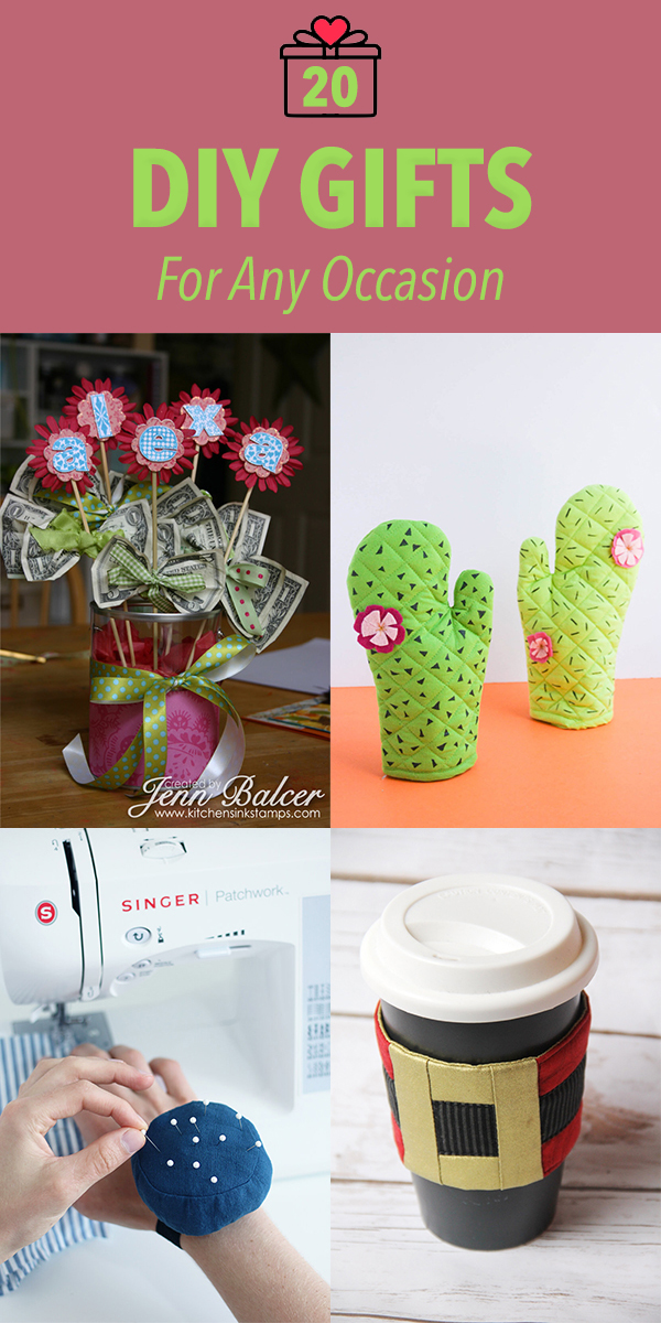 20 DIY Gifts For Any Occasion