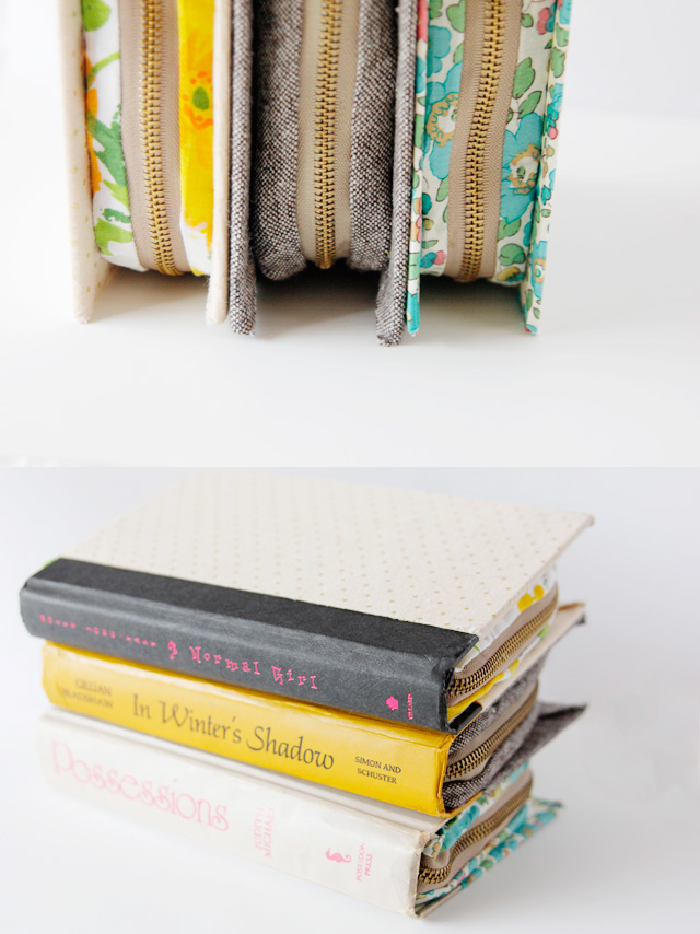 Zipper Book Cover Clutch