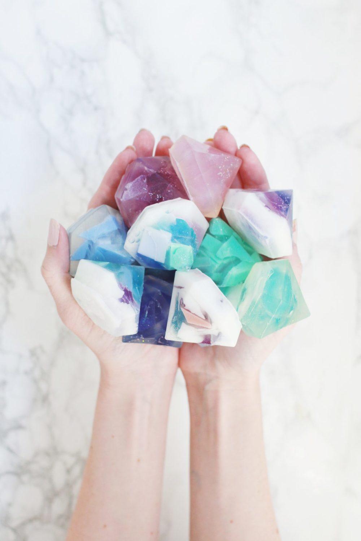 gemstone soaps