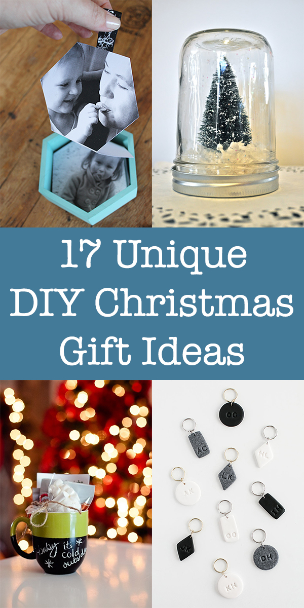 17 Unique DIY Christmas Gift Ideas