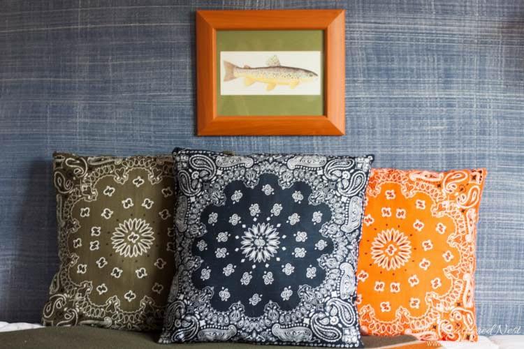 Bandana Pillows