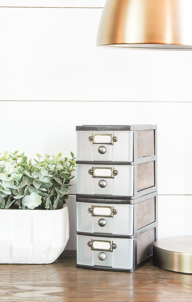 Industrial Farmhouse Storage Drawers