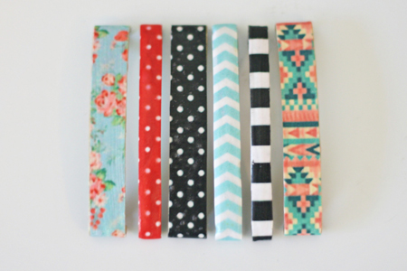 Patterned Hair Clips