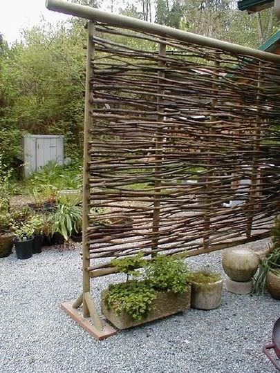 Wattle Privacy Screen