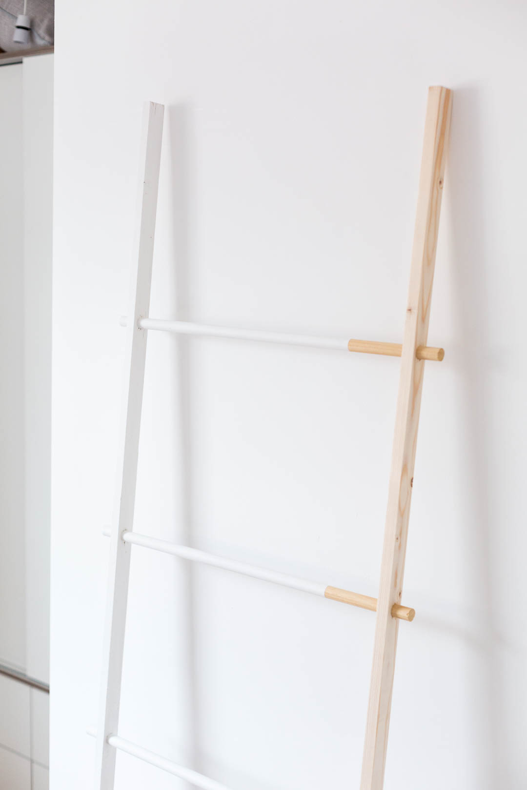 Half Painted Blanket Ladder