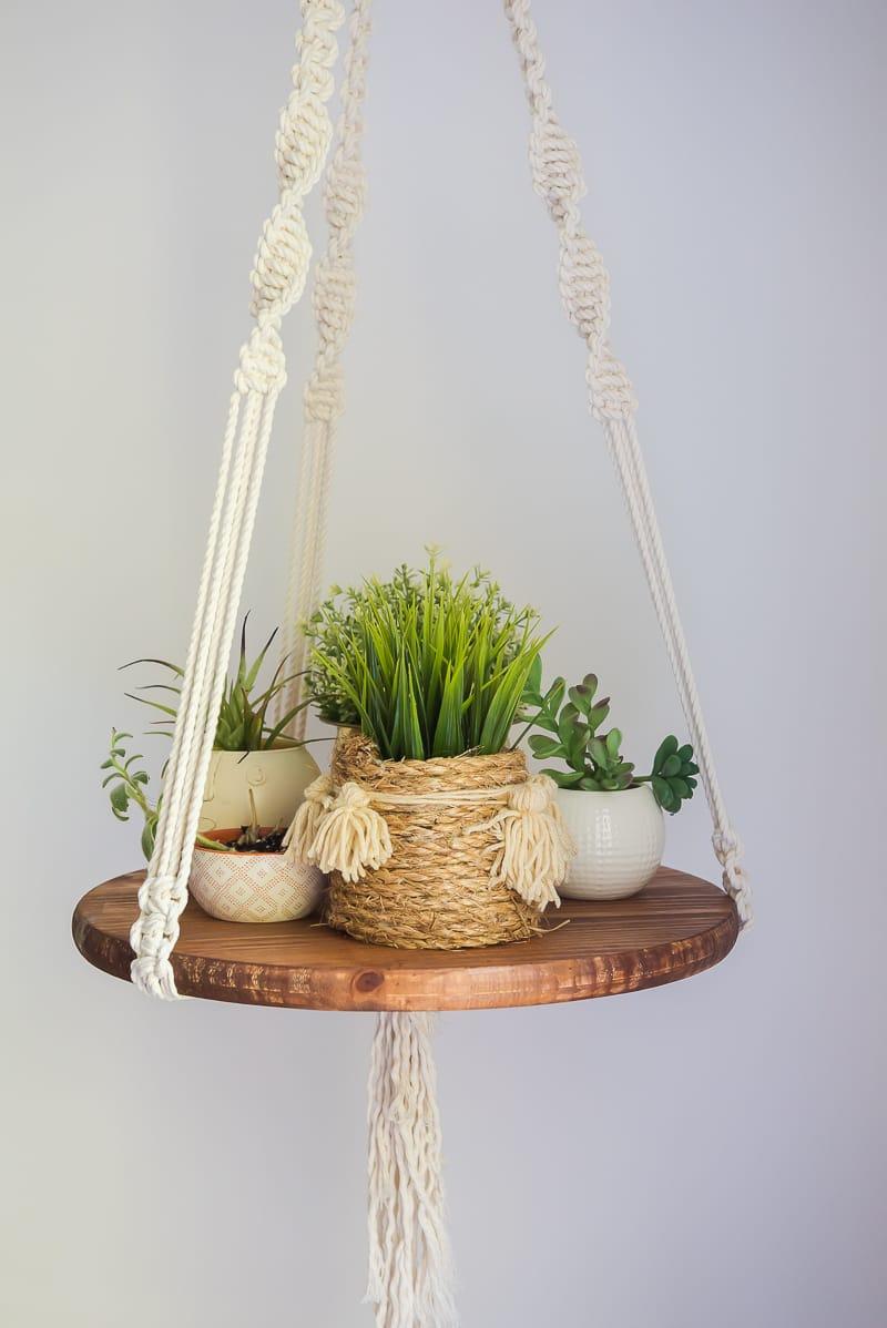 Macrame Hanging Table