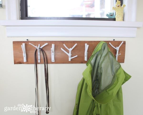 Natural Branch Coat Rack