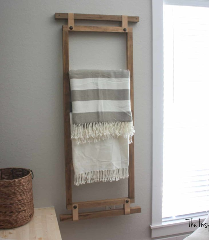Wall Blanket Ladder