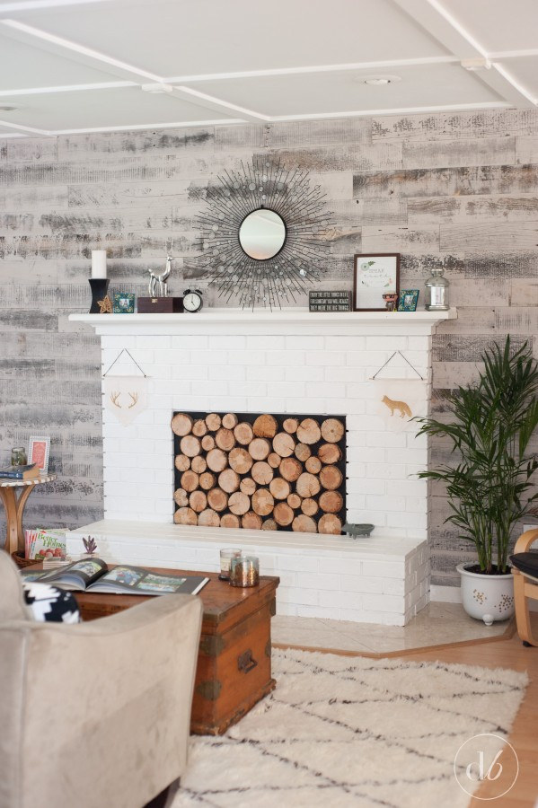 Stikwood accent wall