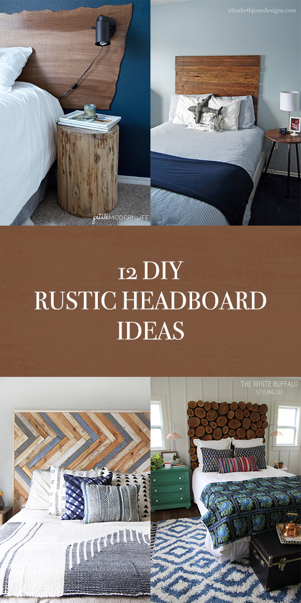 12 DIY Rustic Headboard Ideas To Spruce Up Your Bedroom