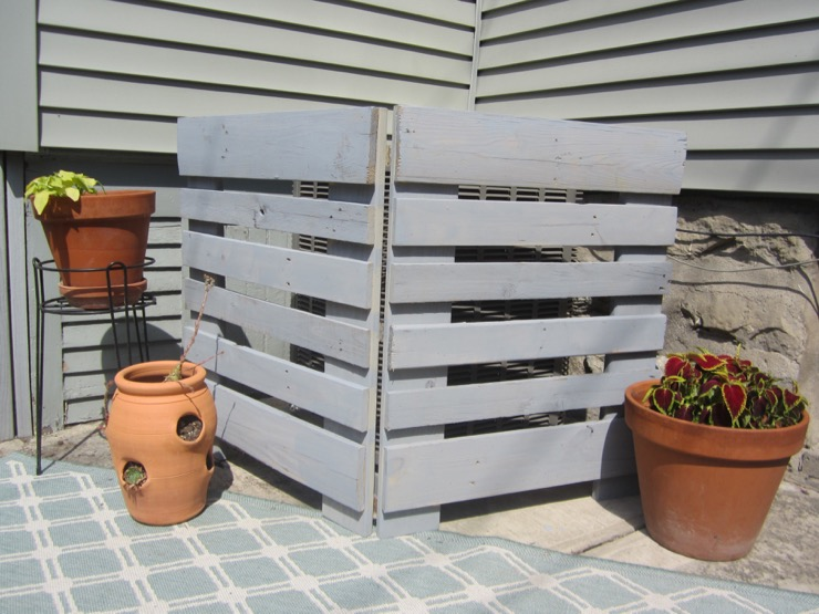 Pallet AC Unit Cover