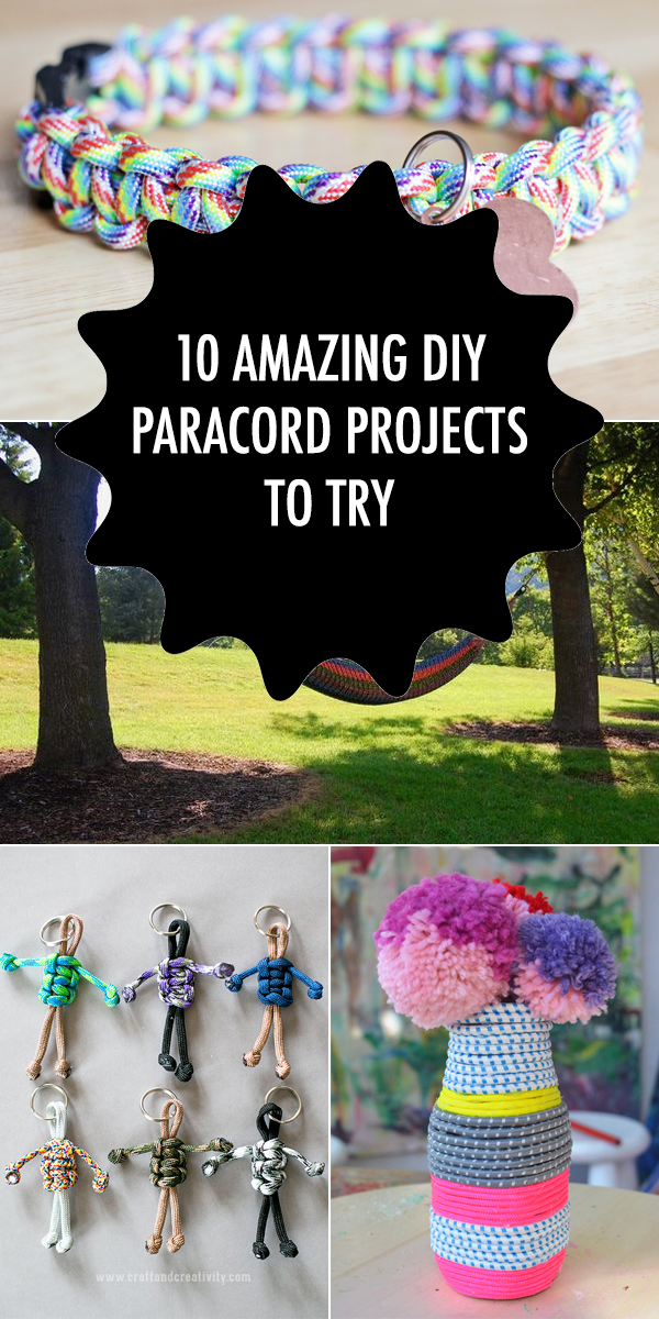 10 Amazing DIY Paracord Projects To Try